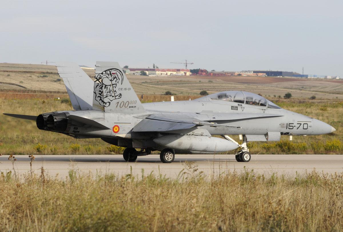 McDonnell Douglas F/A-18B del Ala 15