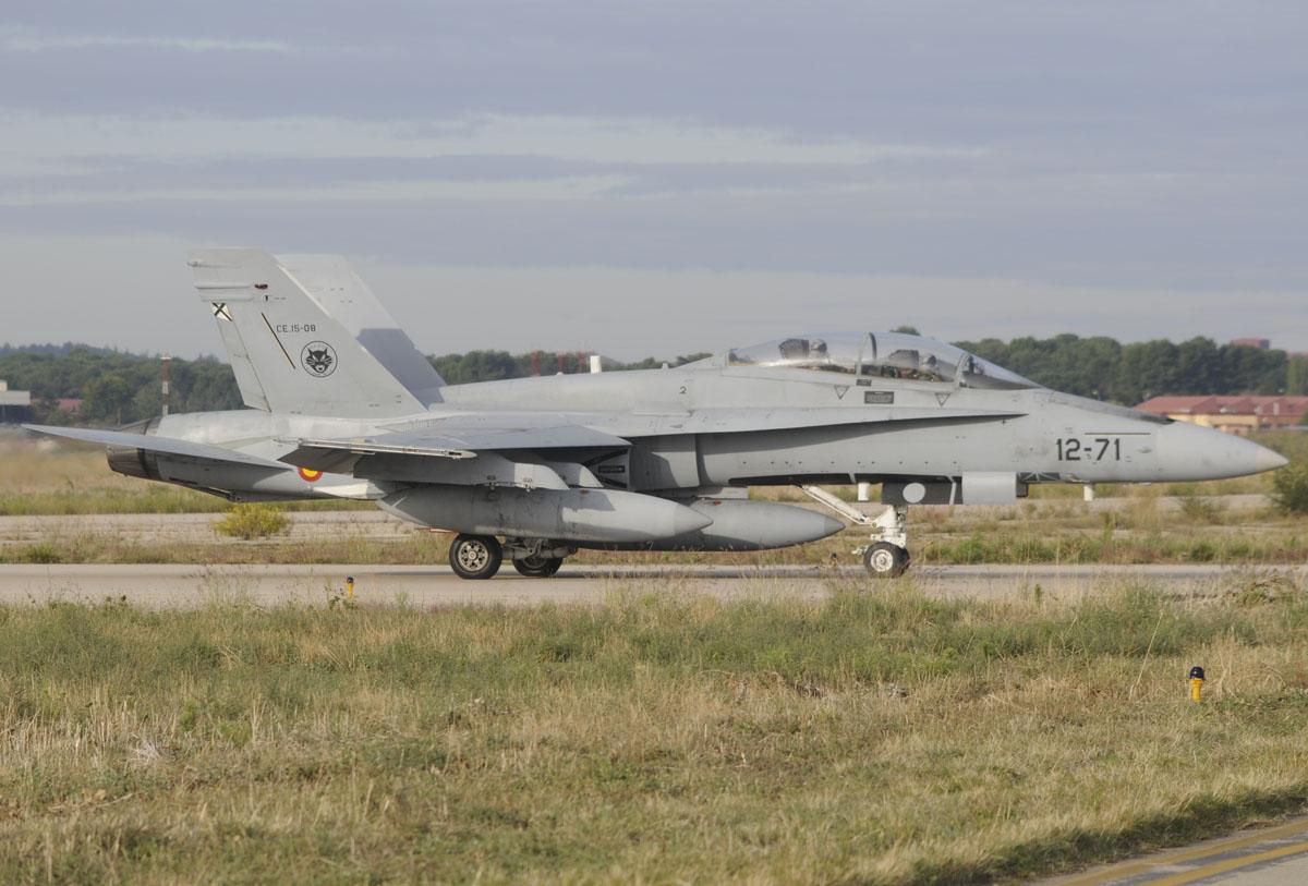 McDonnell Douglas F/A-18B del Ala 12