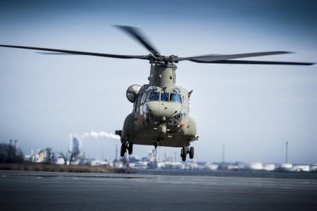 35 años después de la primera entrega, Boeing recibe su último Chinook.
