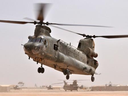 Chinook de la RAF