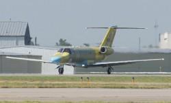 Cessna anunció el desarrollo de esta nueva versión del CJ3 en marzo de 2014.