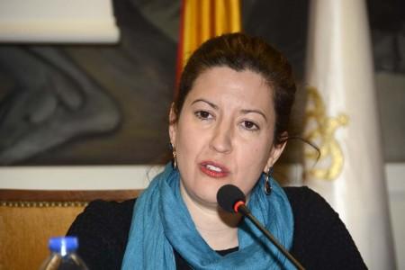 stefania Matesanz, decana del COIAE ha sido la impulsora de esta jornada tras el éxito obtenido por Fly News en sus jornadas Mujer y Aeronáutica.