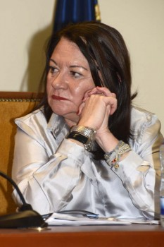 Nuetra editora, Esther Apesteguía ha sido una de las siete mujeres elegidas por el COIAE para esta jornada.