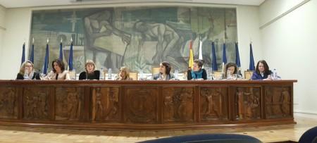 La jornada del COIAE Mujer en la dirección del sector aeronáutico se ha celebrado en el salón de actos del Instituto de la Ingeniería de España.