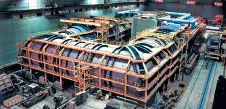 El tunel de viento T-128 del TsAGI. en la parte central de la derecha se sitúa la cámara de ensayos.