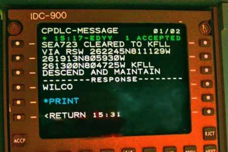 Sistemas como el CPDLC se integrarán en Startical.