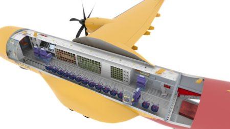 Configuración interna de los C295 FWSAR de Canadá.