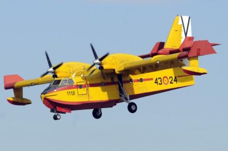 Canadair CL-215T del Ejército del Aire español