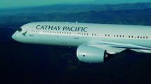 Airbus A350-900 de Cathay Pacific.
