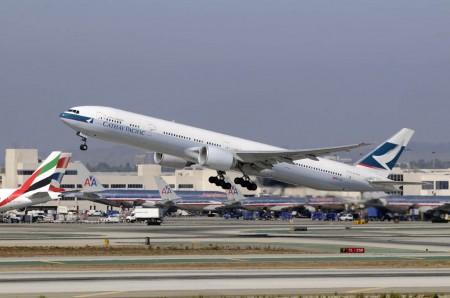 Catahy Pacific dispone de seis Boeing 777-300ER en la configuración de asientos asignada a la ruta de Madrid.