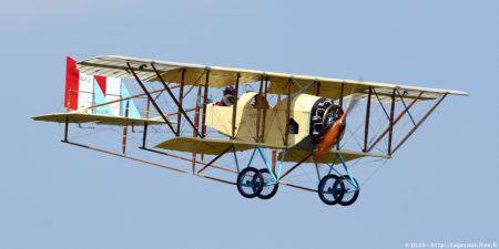 Réplica actual de un Caudron G-3.