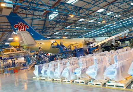 Centro entrega A330 en Toulouse