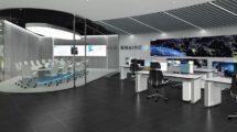 Imagen virtual de como podría ser la sala integrada del centro SYSRED de Enaire.