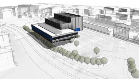 D¡bujo del nuevo centro de desarrollo de alas de Airbus.