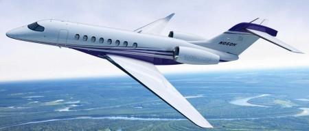 Con el Citation Hemisphere, Cessna entrará en el segmento de los aviones grandes.