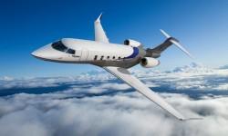 El nuevo avión ejecutivo Challenger 350 es una variante del Challenger 300.
