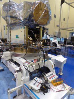 CHEOPS es el primer satélite de la ESA que se ensambla en España. (FOTO: Airbus DS)