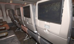 Los 256 asientos de turista cuentan con todo lo que ya podemos esperar en cualquier asiento de este tipo para el largo recorrido.