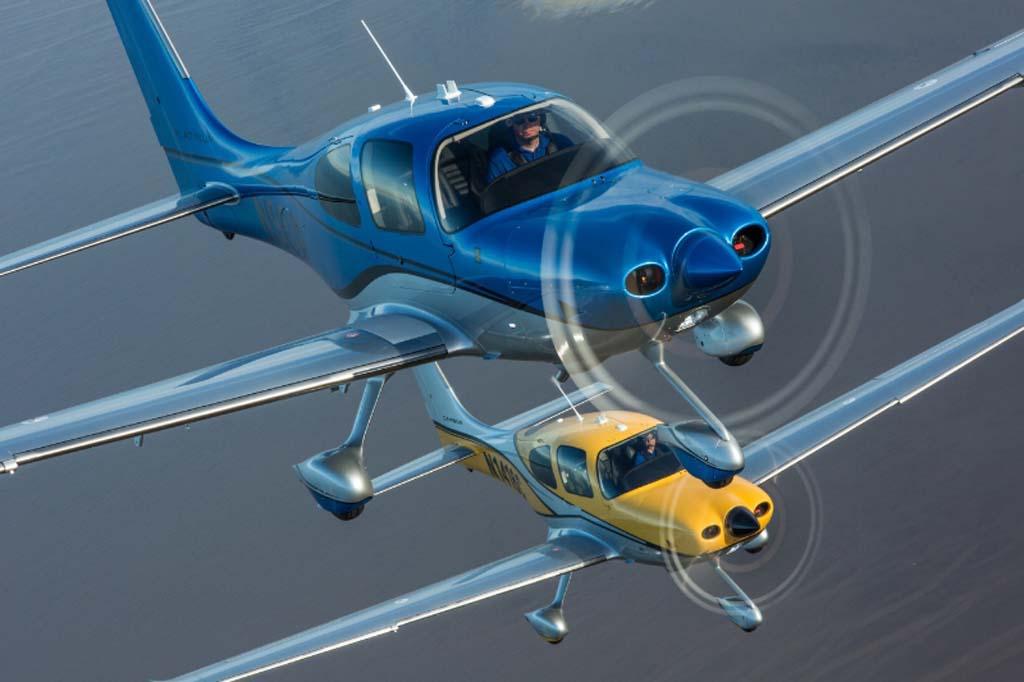 En 2015 Cirrus entregó 301 aviones de su familia SR.