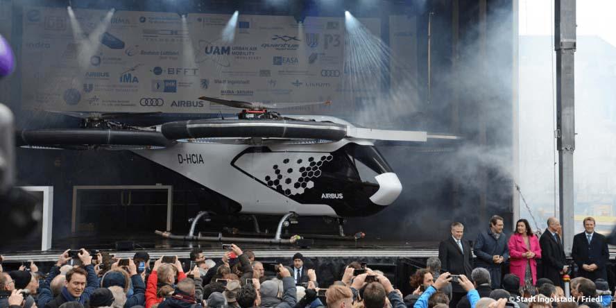 Presentación en Donauworth del CityAirbus el pasado mes de marzo.