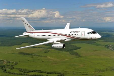 CityJet será la primera aerolínea europea que opere el Sukhoi SuperJet.