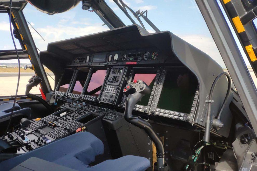 En 2020 Indra logró, entre otros, un contrato para suministrar sistemas de defensa electrónica para el NH90.