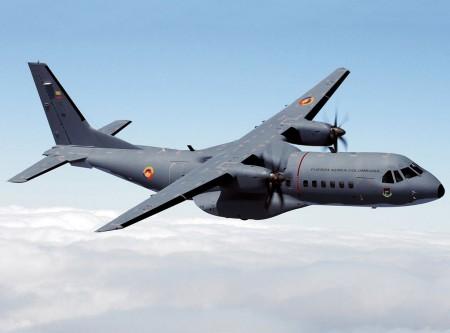 C295 de la Fuerza Aérea de Colombia