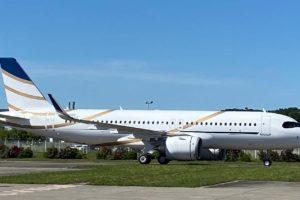 Entre las 24 entregas de Airbus en el mes de mayo de 2020 ha estado este A320neo para Comlux.