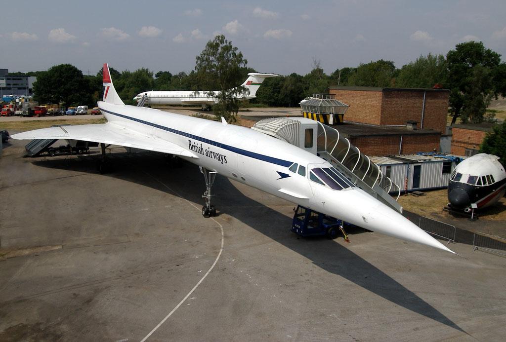 Concorde en el museo de Brooklands