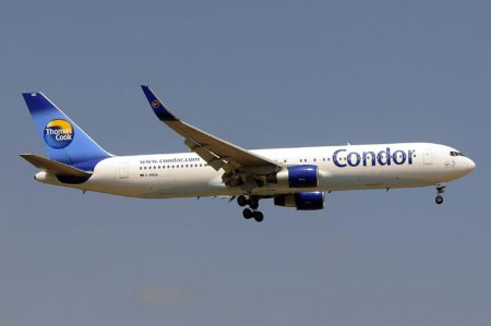 Condor es la única aerolínea del grupo Thomas Cook que mantiene su nombre original, El intento de cambiarlo a Thomas Cook Alemania fueron rechazados por el público.