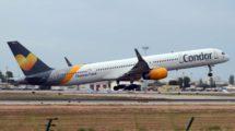 Boeing 757-300 de Condor,, aerolínea alemana del grupo Thomas Cook.