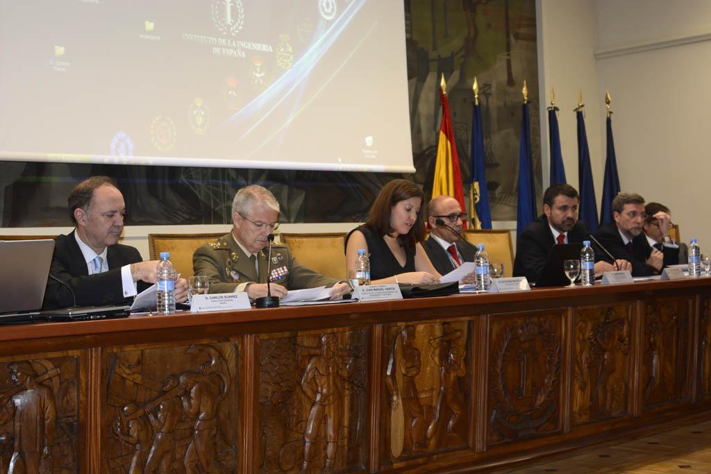 Mesa del Congreso de Ingeniería Aeronáutica 2014.