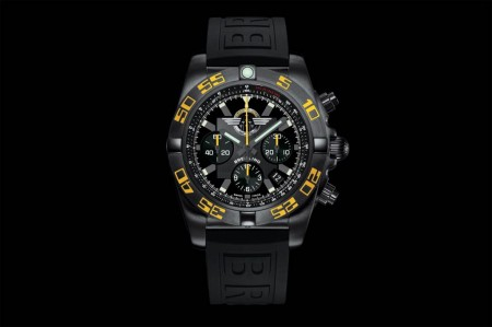 Esfera del Cronomat 44 Breitling Jet Team American Tour Limited Edition.