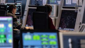 Controladores del centro de área terminal de Valencia.