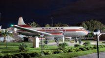 Convair 440 preservado en el Aeromuseo de Málaga. Uno de los varios aviones y miles de objetos que forman sus fondos.
