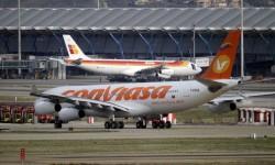 Cuando Conviasa fue incluida en la lista negra de la UE cmantenido sus vuelos a España con aeronaves