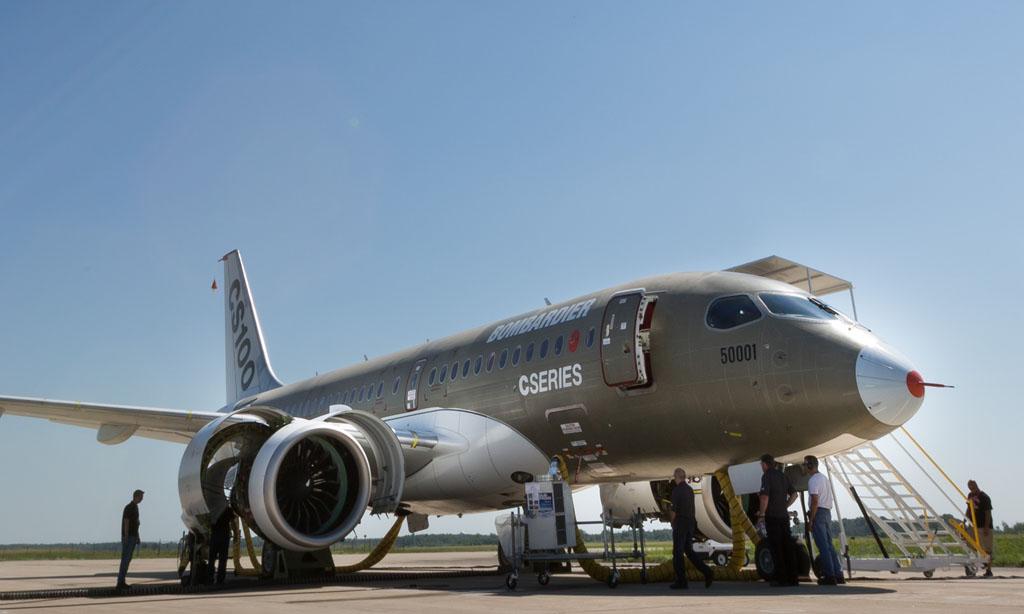 Primer Bombardier CSeries