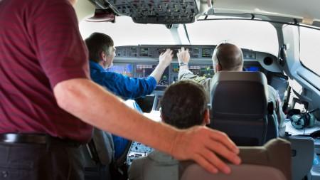 Pruebas de integración de la aviónica del CSeries