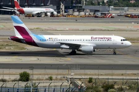 Airbus A320 de Eurowings, antes de Niki.