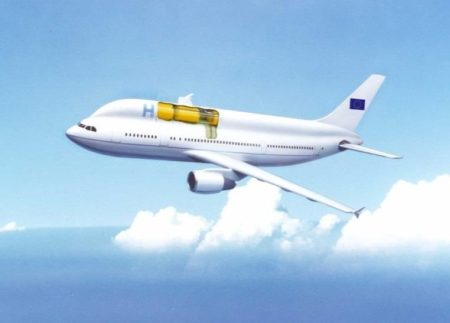 Propuesta de DASA y la industria rusa de un avión con hidrógeno enfriado a temperarturas criogénicas.