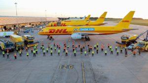 Boeing 757 G-DHKF de DHL
