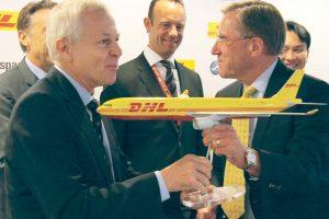 Firma entre DHL y Elbe del primer contrato para convertir a cargueros aviones A330.