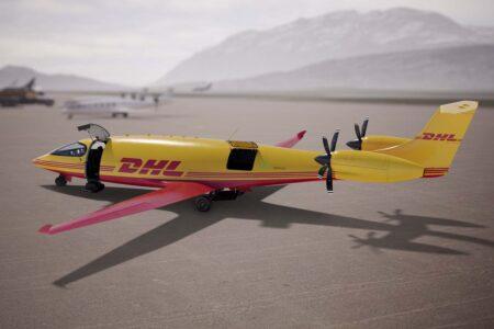DHL quiere establecer una red de vuelos cortos con sus Eviation Alice.
