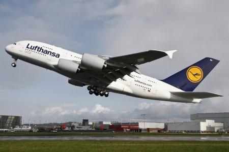 Airbus A380 de Lufthansa