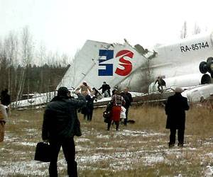 Accidente de un Tupolev Tu-154M en Moscú