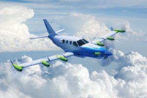 El EcoPulse usará un avión TBM modificado.