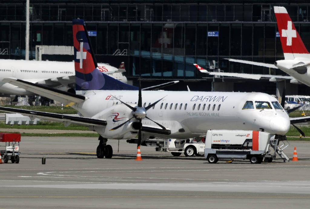 Saab 2000 de Darwin Airlines