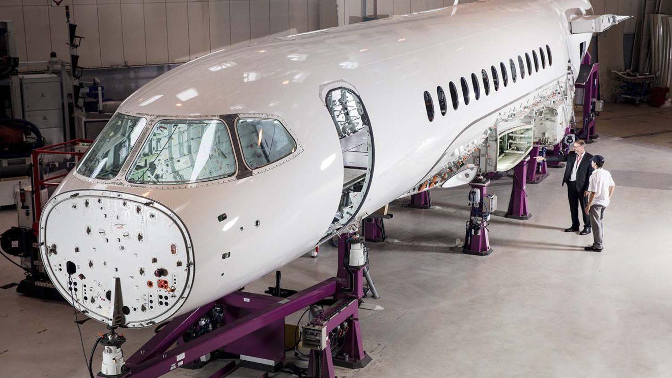 Dassault lanzó el Falcon 6X tras el desastre del Falcon 5X con sus motores.