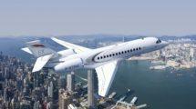 El Dassault Falcon 6X será el mayor avión de la familia Falcon.