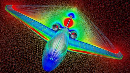 El diseño aerodinámico del Dassault Falcon 10X está optimizado para los vuelos muy largos a alta velocidad.